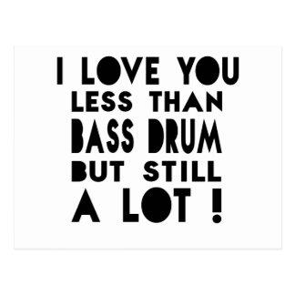 Bass drum Designs Postcard