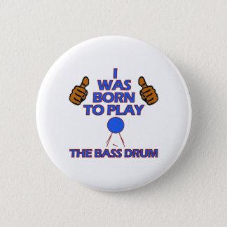 bass drum Musical designs Button