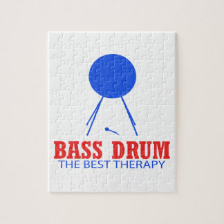 Bass Drum Musical designs Jigsaw Puzzle