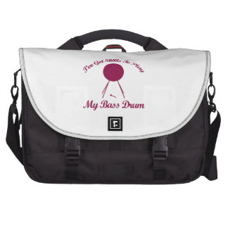 bass drum musical designs bags for laptop
