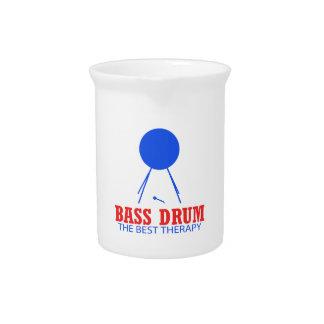 Bass Drum Musical designs Pitcher