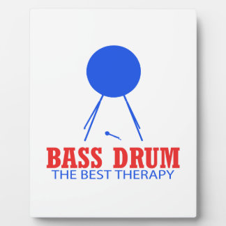 Bass Drum Musical designs Display Plaques