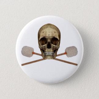Bass Drum Pirate Button