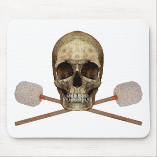 Bass Drum Pirate Mouse Pad