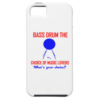 bass drum  the choice of music lovers iPhone 5 cases