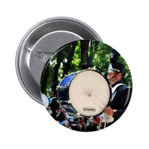 Bass Drums on Parade 2 Inch Round Button