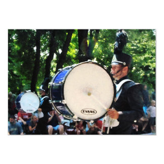 Bass Drums on Parade Card
