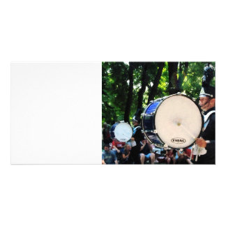 Bass Drums on Parade Photo Card