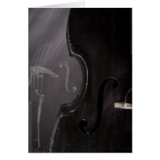 Bass f hole - Card