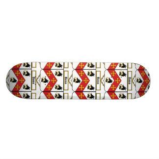 Bass Family Crest Skate Board Deck