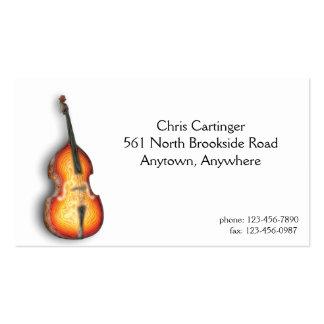 Bass Fiddle Business Card