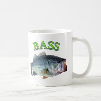 bass fish 14 coffee mug