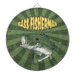 Bass Fisherman Dartboard