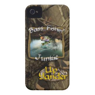 Bass Fishin' Junkie iPhone 4 Case-Mate Case
