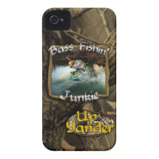 Bass Fishin' Junkie iPhone 4 Case-Mate Cases
