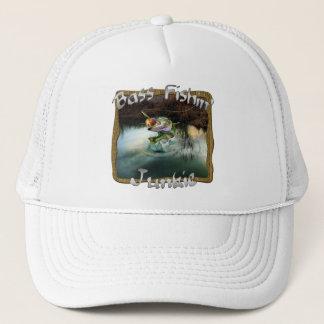Bass Fishin' Junkie Trucker Hat