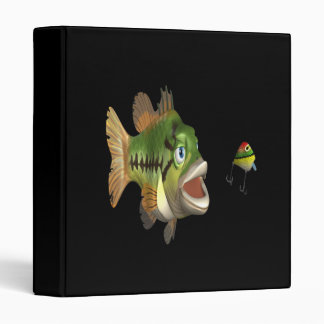 Bass Fishing 3 Ring Binder