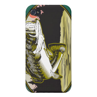 Bass Fishing 4  Covers For iPhone 4