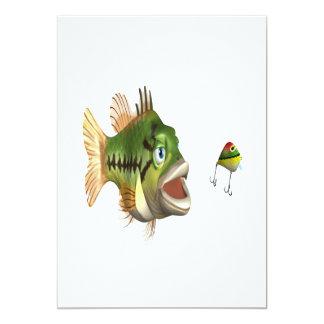 Bass Fishing Card