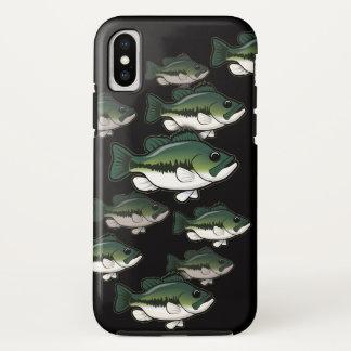 Bass Fishing Largemouth School Phone Case