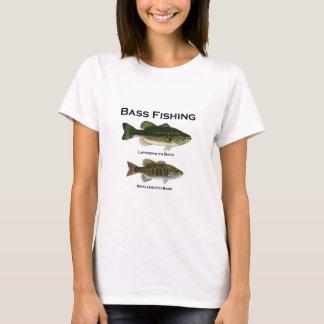 Bass Fishing Logo (largemouth - smallmouth) T-Shirt