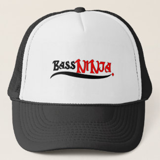bass fishing ninja fishing t shirt. trucker hat
