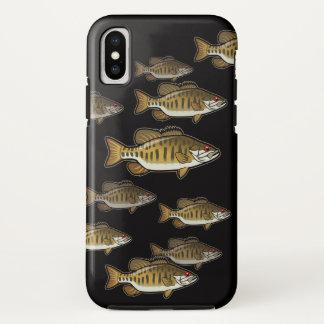 Bass Fishing Smallmouth School Phone Case