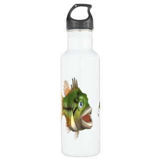 Bass Fishing Stainless Steel Water Bottle
