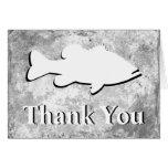 "Bass Fishing ""Thank You"" - Greeting Card"