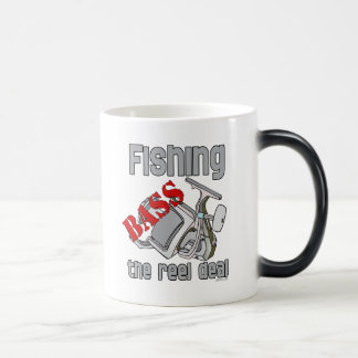 Bass Fishing The Reel Deal Mugs