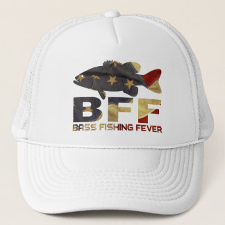 BASS FISHING USA TRUCKER HAT