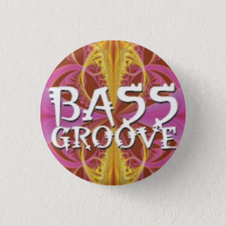 Bass Groove Pinback Button