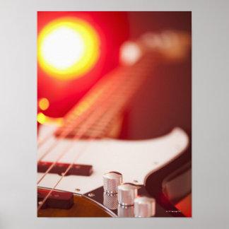 Bass Guitar 2 Poster