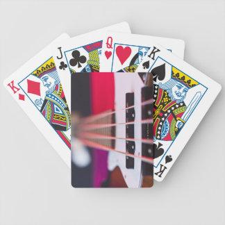 Bass Guitar 3 Bicycle Playing Cards
