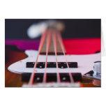 Bass Guitar 3 Card