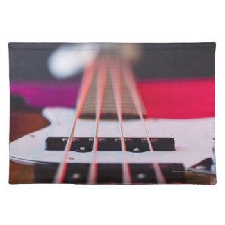 Bass Guitar 3 Place Mat