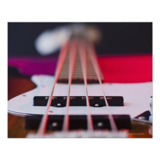 Bass Guitar 3 Print