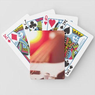 Bass Guitar Bicycle Playing Cards