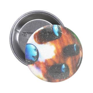 Bass guitar control knobs grunge look tiger eye 2 inch round button