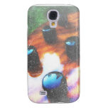 Bass guitar control knobs grunge look tiger eye galaxy s4 cover