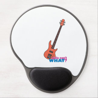 Bass Guitar Gel Mouse Pad