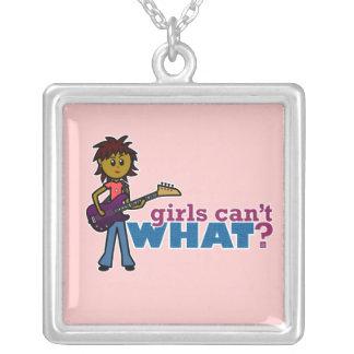 Bass Guitar Girl Custom Jewelry