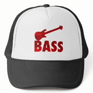 Bass Guitar Mesh Hat
