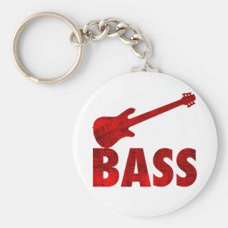 Bass Guitar Key Chain