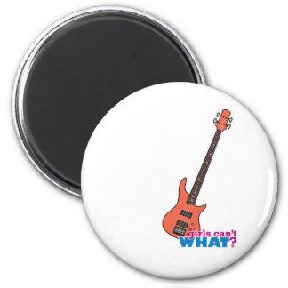 Bass Guitar Fridge Magnet