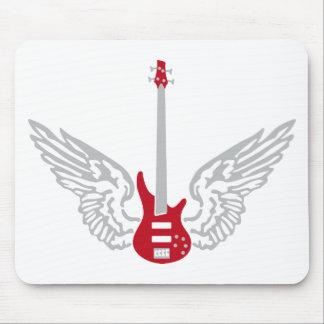 bass guitar mouse pad