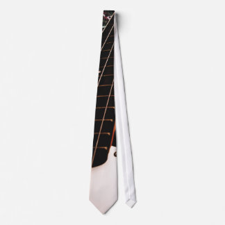 Bass Guitar Neck Music Tie
