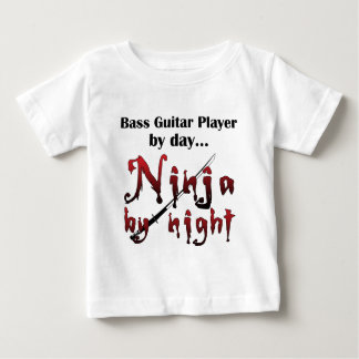 Bass Guitar Ninja Baby T-Shirt