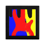 Bass Guitar Painting Abstract Bright Colours Gift Boxes