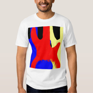 Bass Guitar Painting Abstract Bright Colours T-Shirt